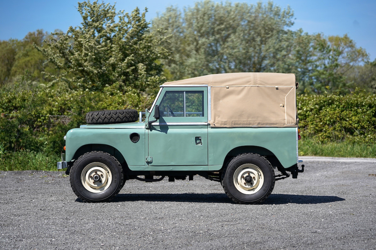 Land Rover Series 3 88 Soft Top 1975 TAX & MOT EXEMPT  SOLD (picture 3 of 6)