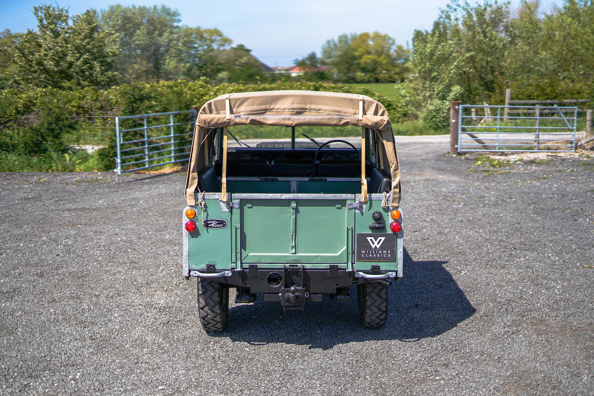 Land Rover Series 3 88 Soft Top 1975 TAX & MOT EXEMPT  SOLD (picture 5 of 6)