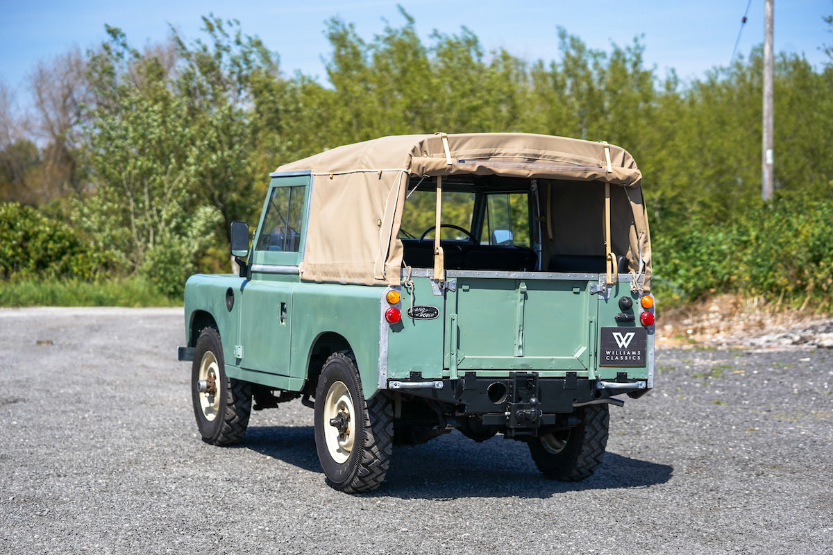 Land Rover Series 3 88 Soft Top 1975 TAX & MOT EXEMPT  SOLD (picture 6 of 6)