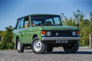 Land Rover Range Rover Suffix A Lincoln Green 1972