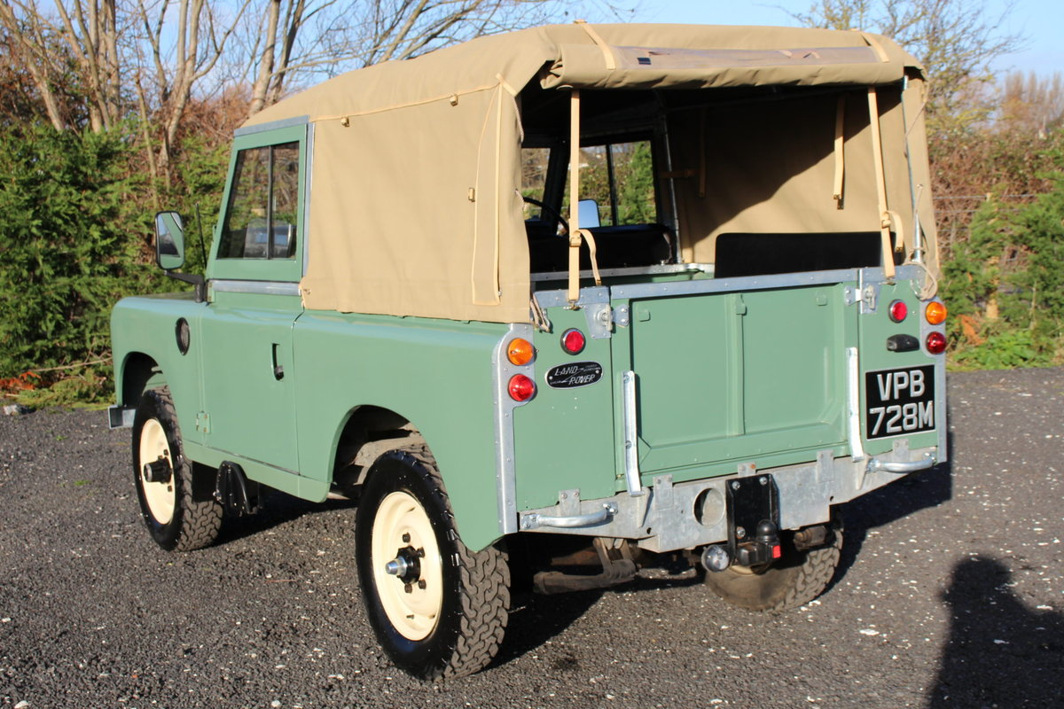 Land Rover Series 3 88 1974 Pastel Green Softop Refurbished  For Sale (picture 5 of 6)