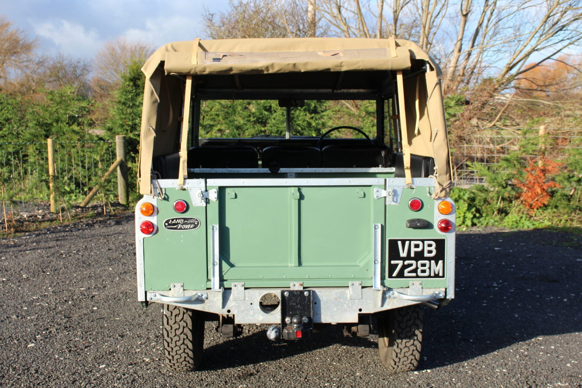 Land Rover Series 3 88 1974 Pastel Green Softop Refurbished  For Sale (picture 6 of 6)