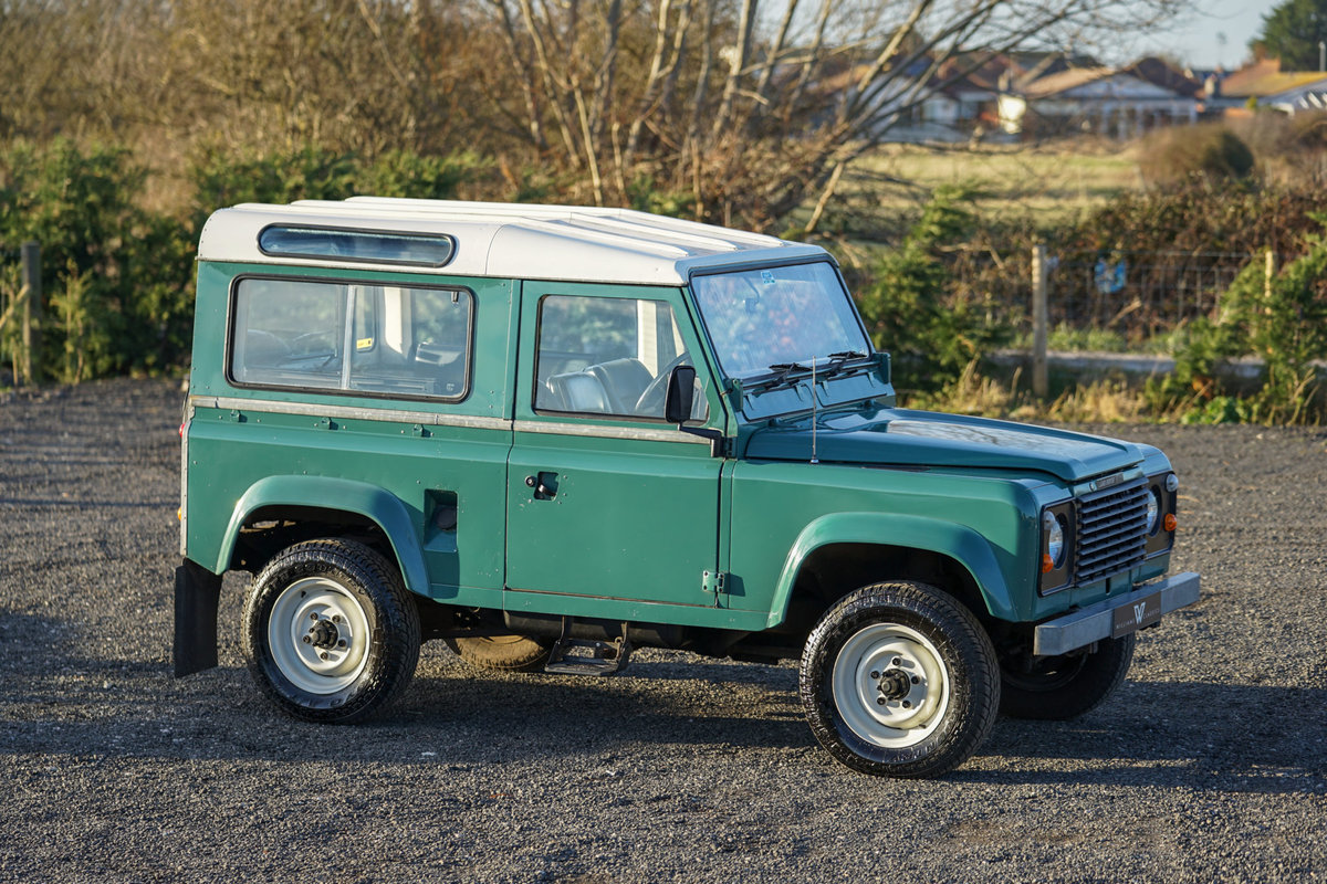 1986 Land Rover 90 Factory V8 Station Wagon 41,000 Miles From New For Sale (picture 3 of 6)