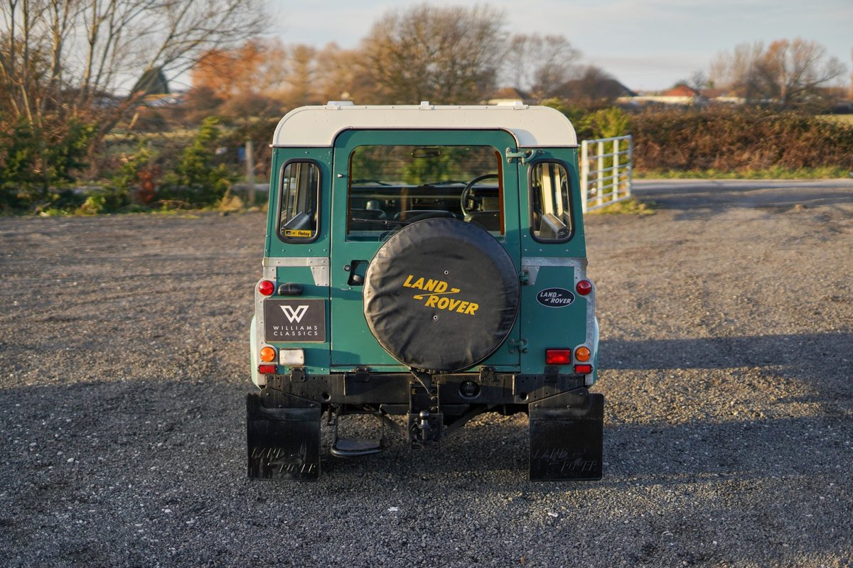 1986 Land Rover 90 Factory V8 Station Wagon 41,000 Miles From New For Sale (picture 6 of 6)