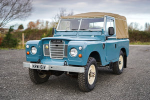 Land Rover Series 3 88 1980 Soft Top Nut & Bolt Restoration  For Sale