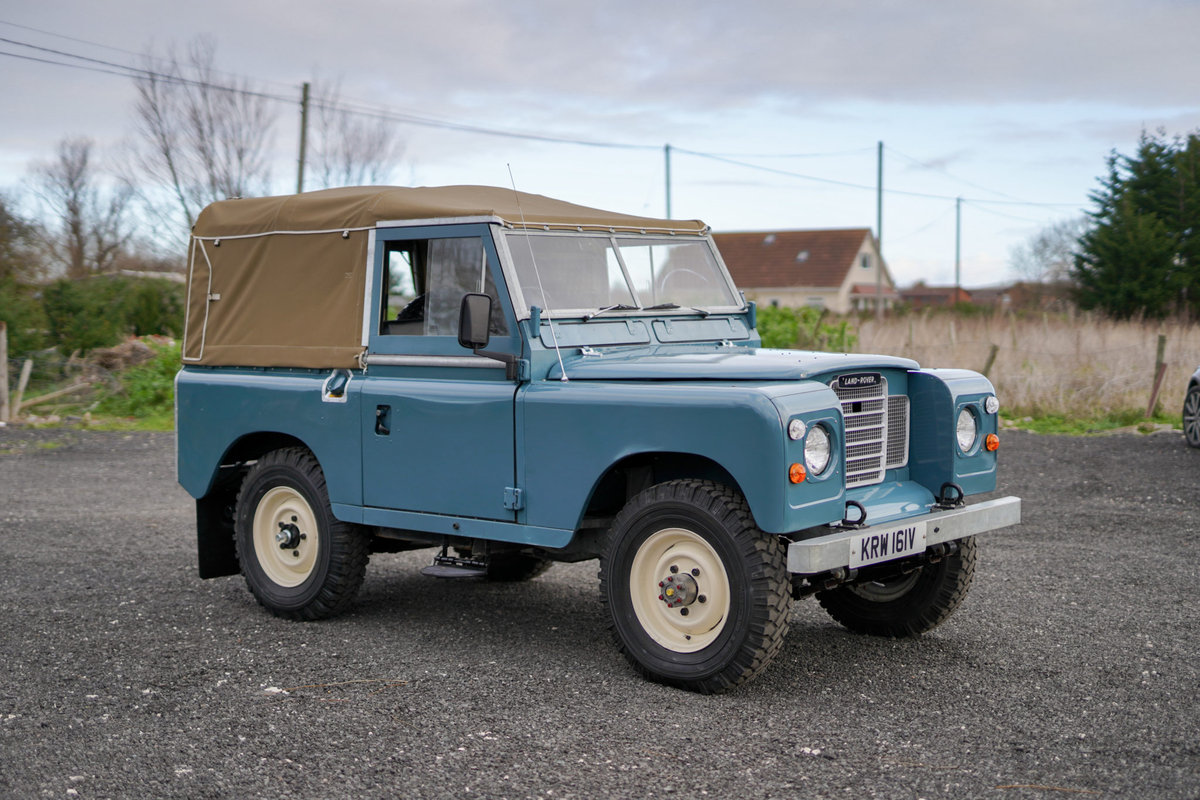 Land Rover Series 3 88 1980 Soft Top Nut & Bolt Restoration  SOLD (picture 2 of 6)