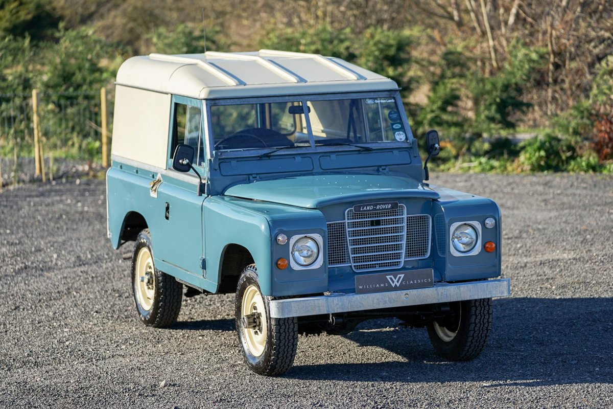 1983 Land Rover Series 3 88 Hardtop 63,000 Miles For Sale (picture 1 of 6)