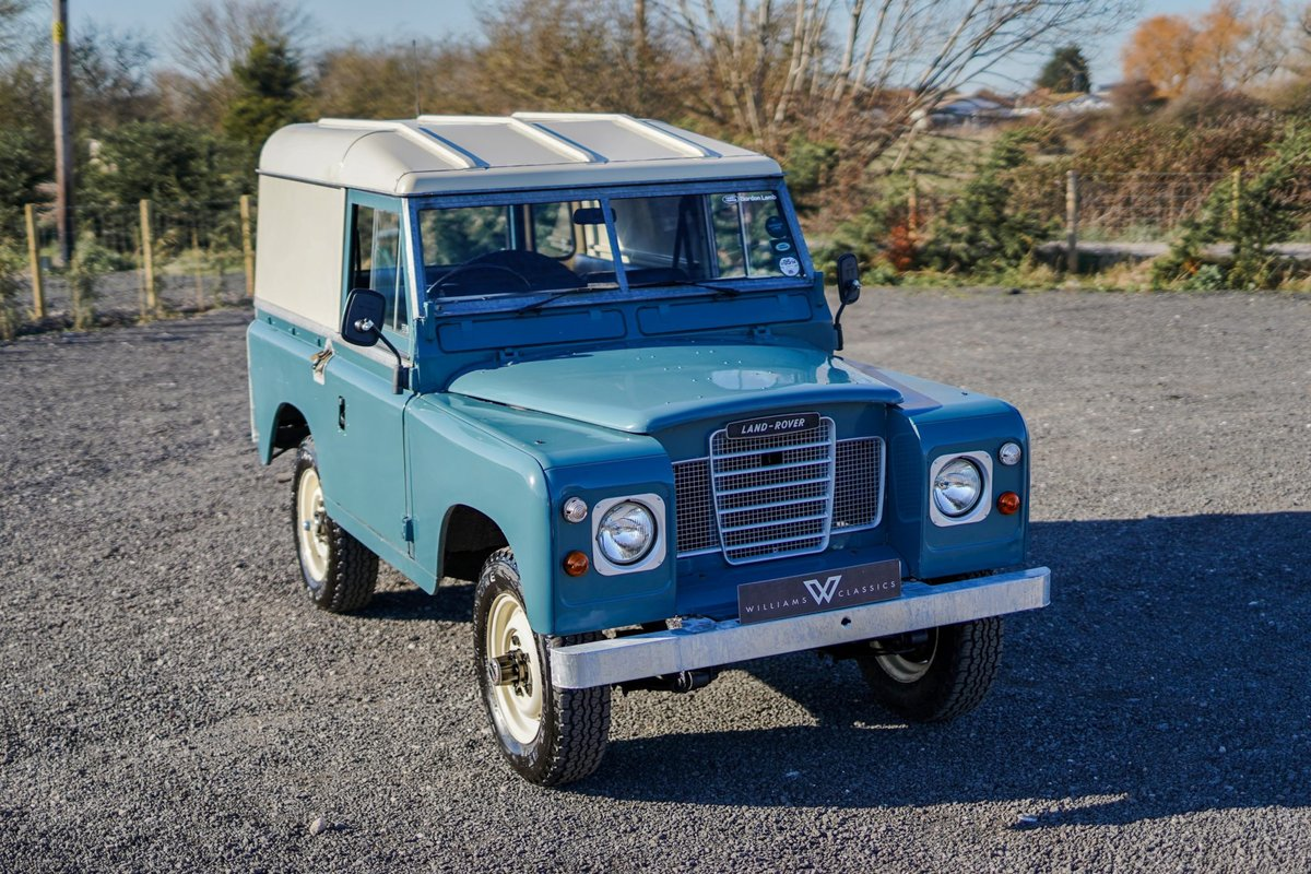 1983 Land Rover Series 3 88 Hardtop 63,000 Miles For Sale (picture 2 of 6)