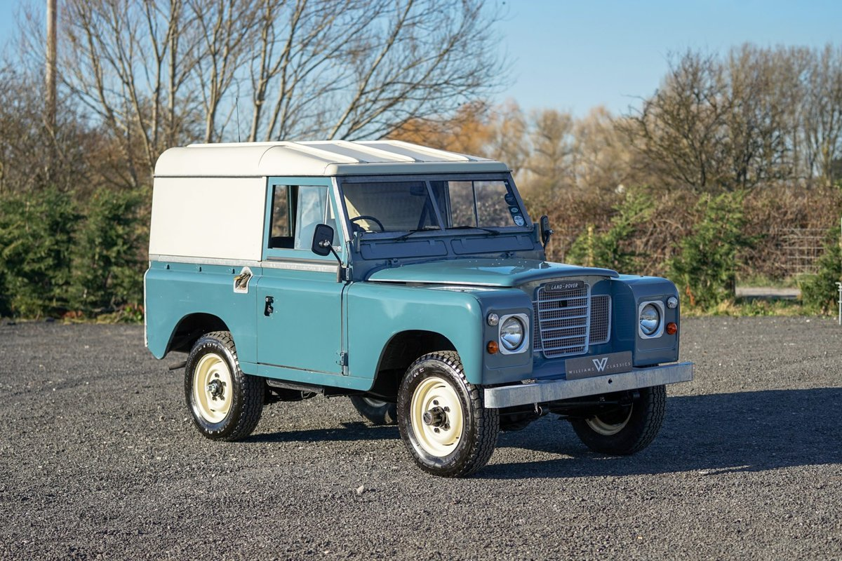 1983 Land Rover Series 3 88 Hardtop 63,000 Miles For Sale (picture 3 of 6)