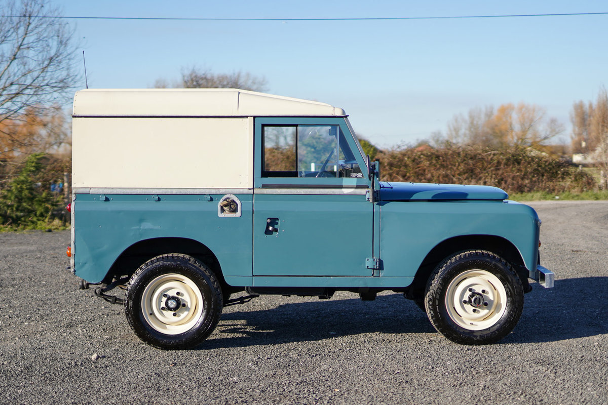 1983 Land Rover Series 3 88 Hardtop 63,000 Miles For Sale (picture 5 of 6)