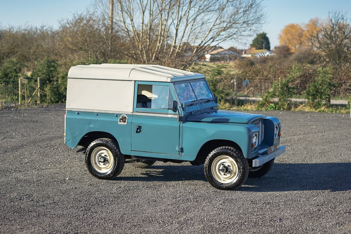 1983 Land Rover Series 3 88 Hardtop 63,000 Miles For Sale (picture 6 of 6)
