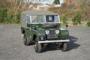 Land Rover Series 1 86 Soft Top 1955 Nut & Bolt Restoration  For Sale