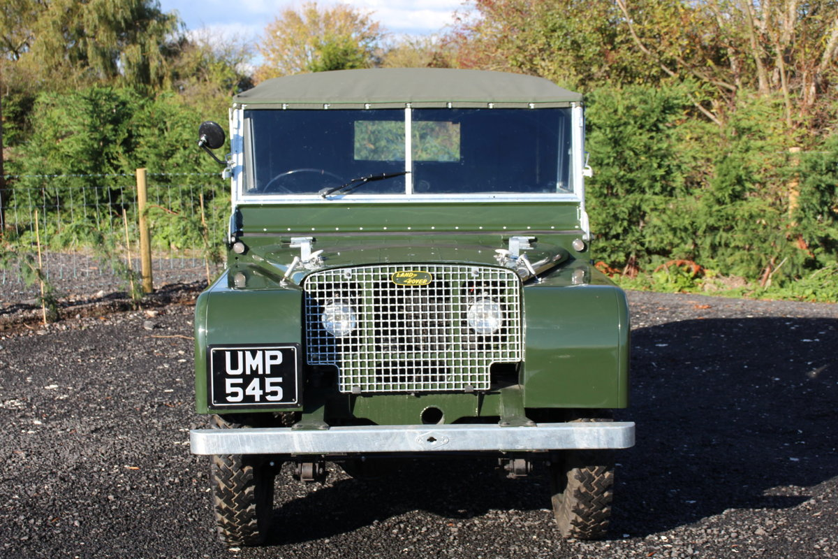 Land Rover Series 1 80 1949 R866 Lights Behind the Grille  For Sale (picture 3 of 6)