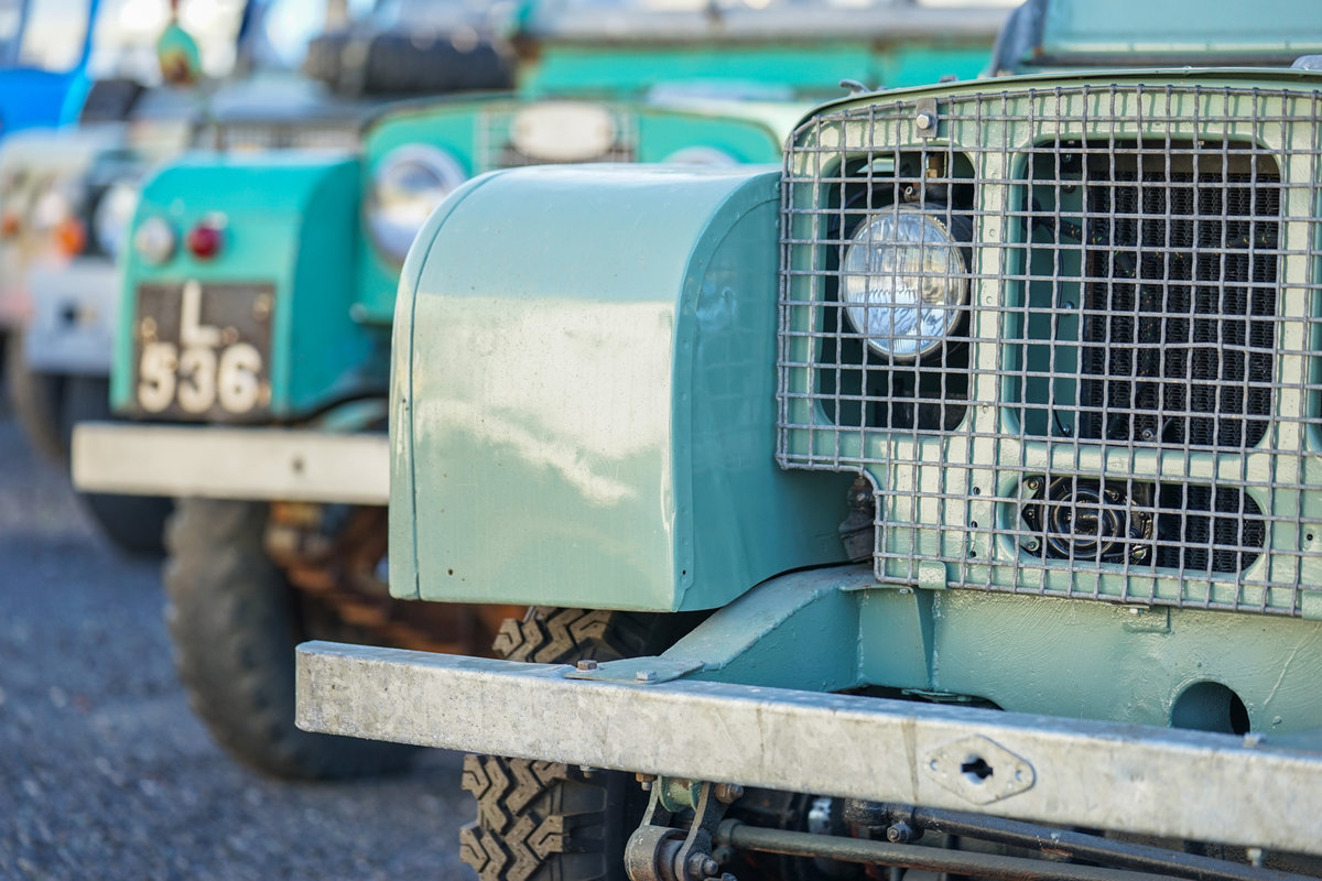 1949 Land Rover Series 1 80 Lights Behind Grille Project JWR 918 For Sale (picture 4 of 6)