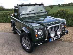 2000 Land Rover Defender Fully rebuilt For Sale