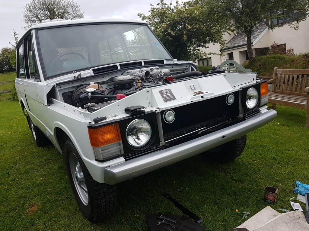 1972 Range Rover A-Suffix - Nut and Bolt Rebuild For Sale (picture 1 of 6)