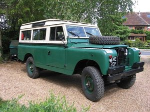 1962 Land Rover Series IIA 109