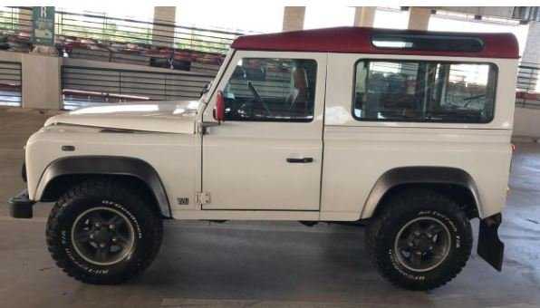 2000 Land Rover 90 for export from Brazil For Sale (picture 1 of 5)