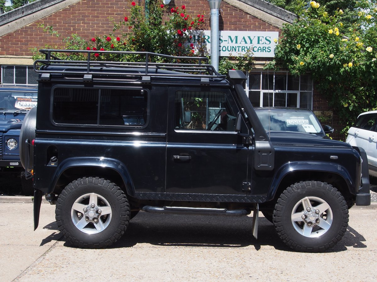 2011 Land Rover Defender 90 2.4 TDi XS Station Wagon 3dr For Sale (picture 2 of 6)