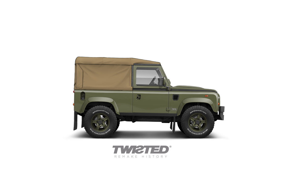 2016 TWISTED LIGHTWEIGHT 90 SOFT TOP - DELIVERY MILES For Sale (picture 1 of 1)