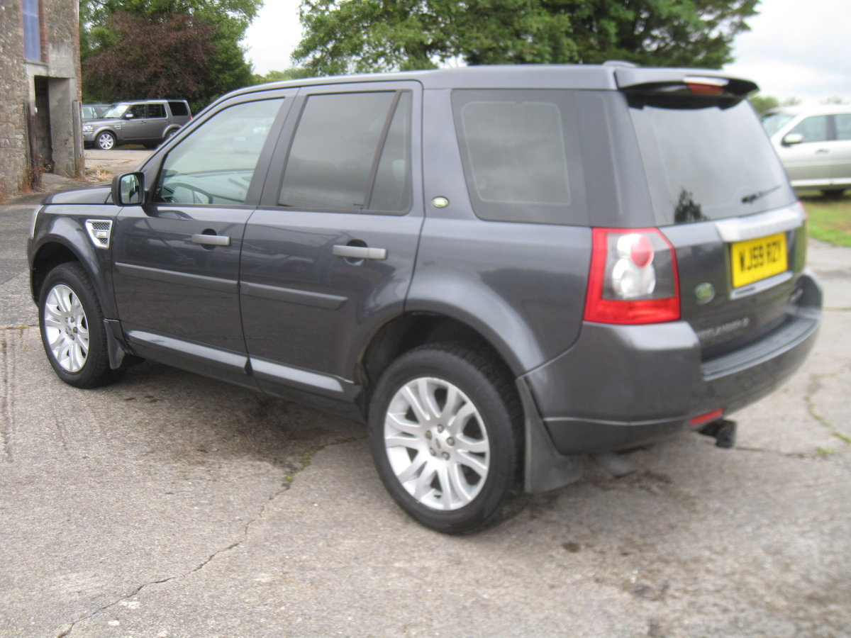 2009 Freelander 2 TD4 HSE Auto For Sale (picture 3 of 6)