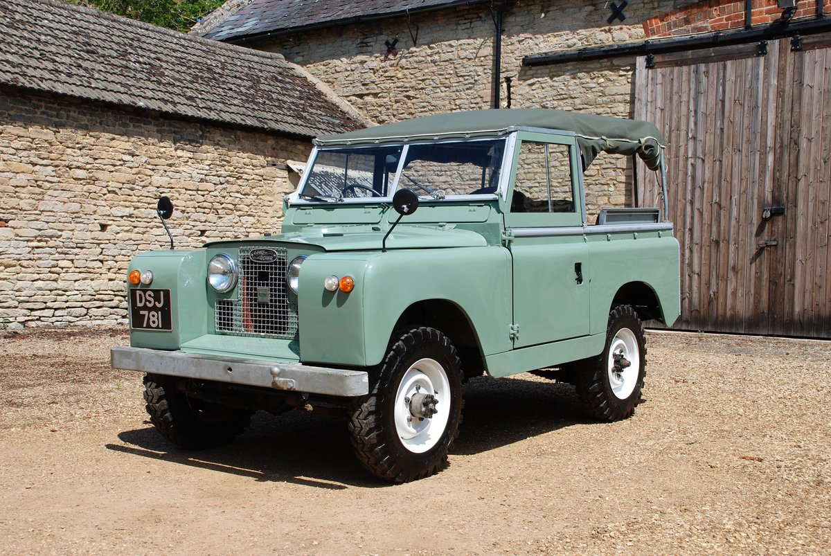 1959 A rare early Series II Land Rover soft top For Sale (picture 1 of 6)