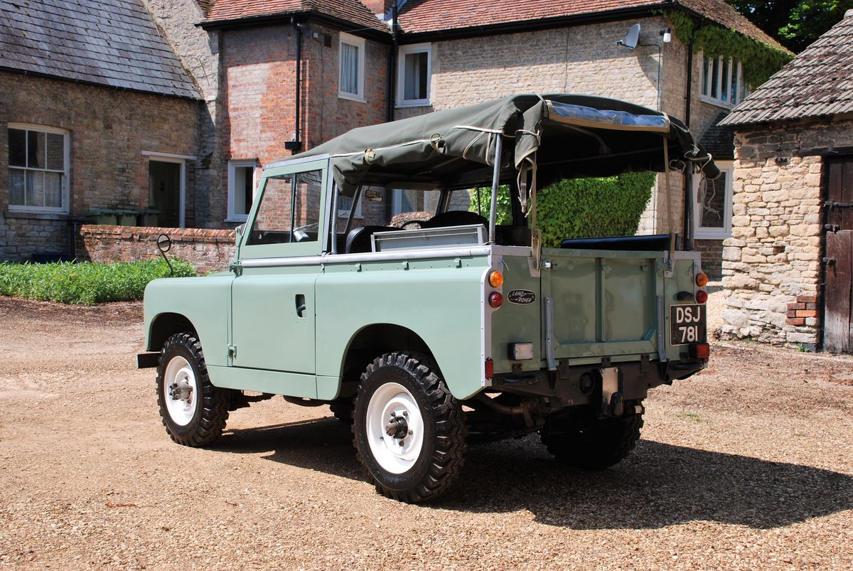 1959 A rare early Series II Land Rover soft top For Sale (picture 2 of 6)