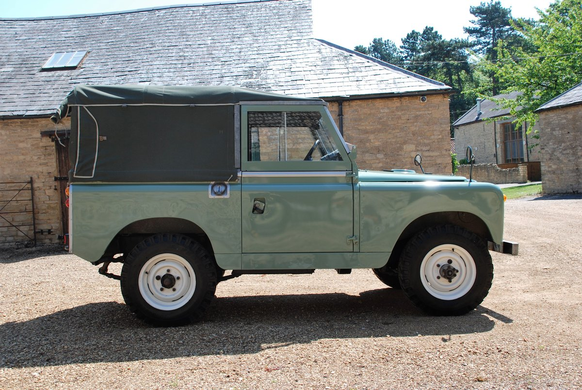 1959 A rare early Series II Land Rover soft top For Sale (picture 3 of 6)