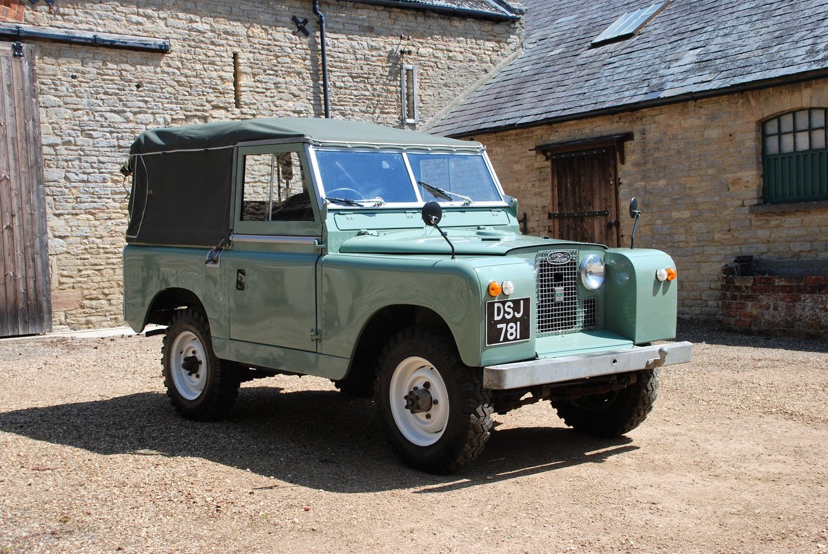 1959 A rare early Series II Land Rover soft top For Sale (picture 4 of 6)