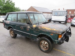 1980 Public Auction: Range Rover Classic 3 Door For Sale by Auction
