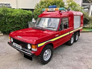 1976 Land Rover - Range 6 Wheeler Fire & Rescue For Sale