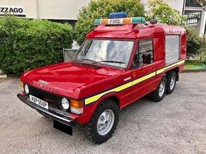 1976 Land Rover - Range 6 Wheeler Fire & Rescue