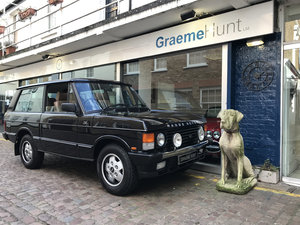 1991 Range Rover Classic CSK - body off restoration For Sale