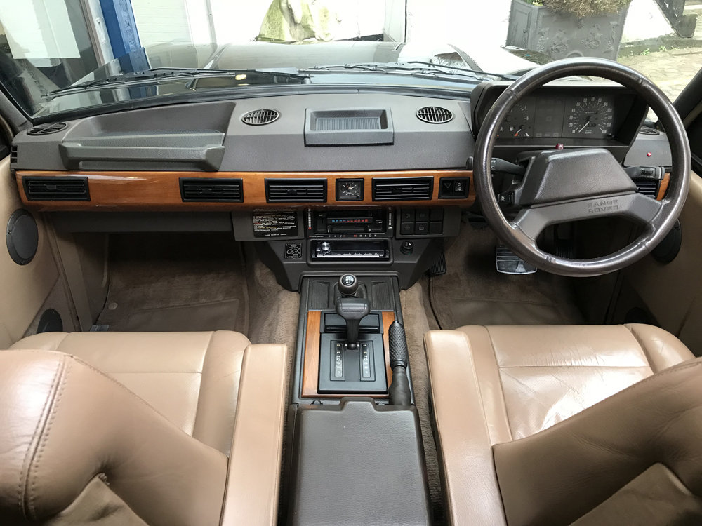 1991 Range Rover Classic CSK - body off restoration For Sale (picture 2 of 6)