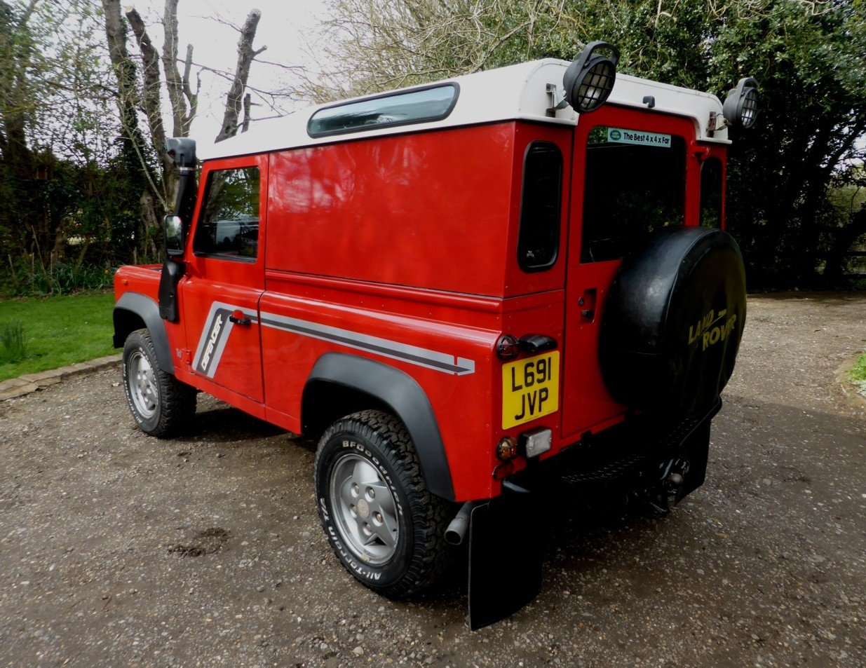 1993 Stunning and outstanding Defender 90 200tdi For Sale (picture 4 of 6)
