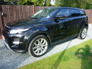 2012-12 Range Rover Evoque 2.2 SD4 Dynamic Lux 39000 miles SOLD