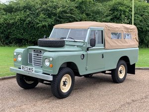 1984 Land Rover Series III LWB at ACA 15th June  For Sale
