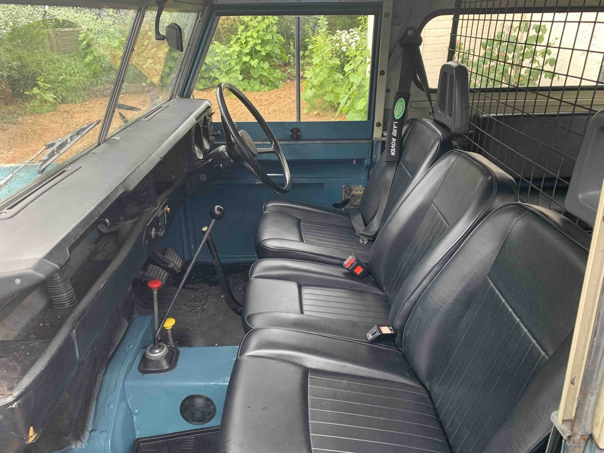 Land Rover Petrol SWB S3 1982  REFURBISHED NO RUST SOLD (picture 5 of 6)