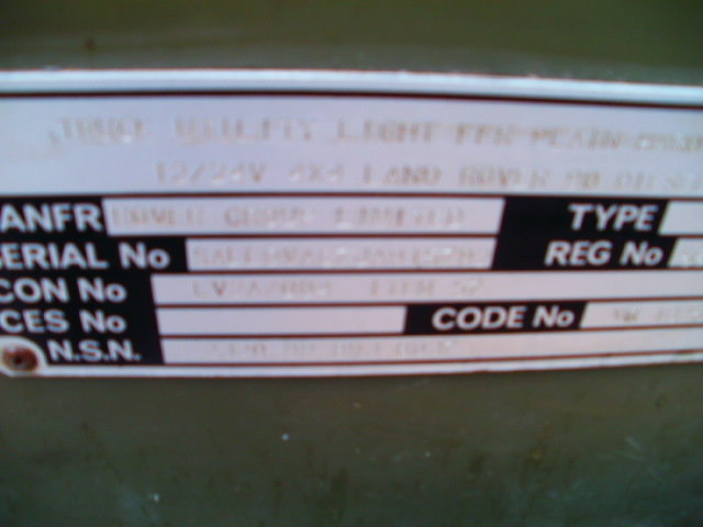 1992 landrover ffr light use only For Sale (picture 5 of 6)