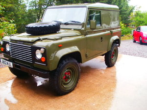 1992 ex millatary landrover 90 defender For Sale