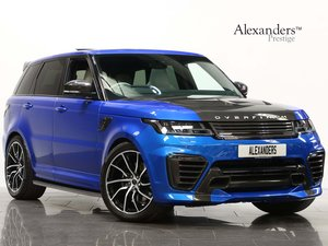 2018 18 68 RANGE ROVER SPORT 5.0 SVR S/C OVERFINCH AUTO For Sale