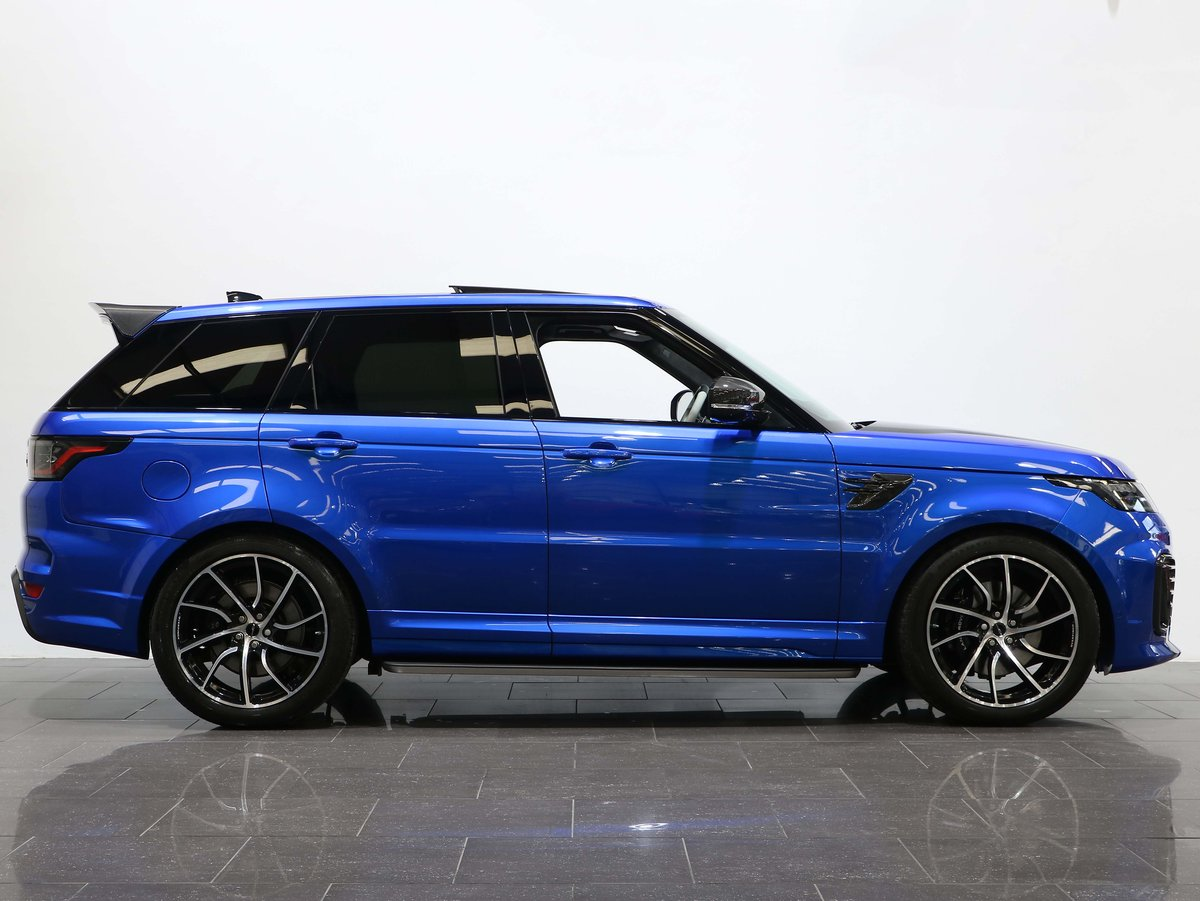 2018 18 68 RANGE ROVER SPORT 5.0 SVR S/C OVERFINCH AUTO For Sale (picture 2 of 6)