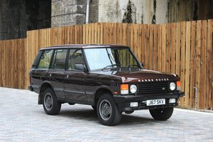 1992 Range Rover Vogue 3.9 EFI 5 Speed Manual For Sale