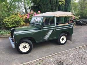 1984 Series 3 Diesel with Galvanised Chassis For Sale