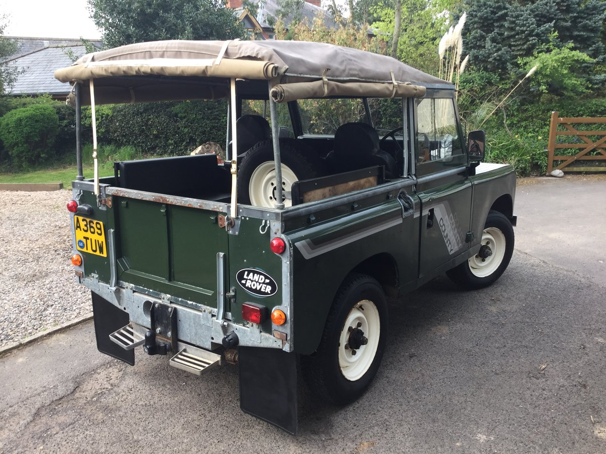 1984 Series 3 Diesel with Galvanised Chassis For Sale (picture 2 of 6)