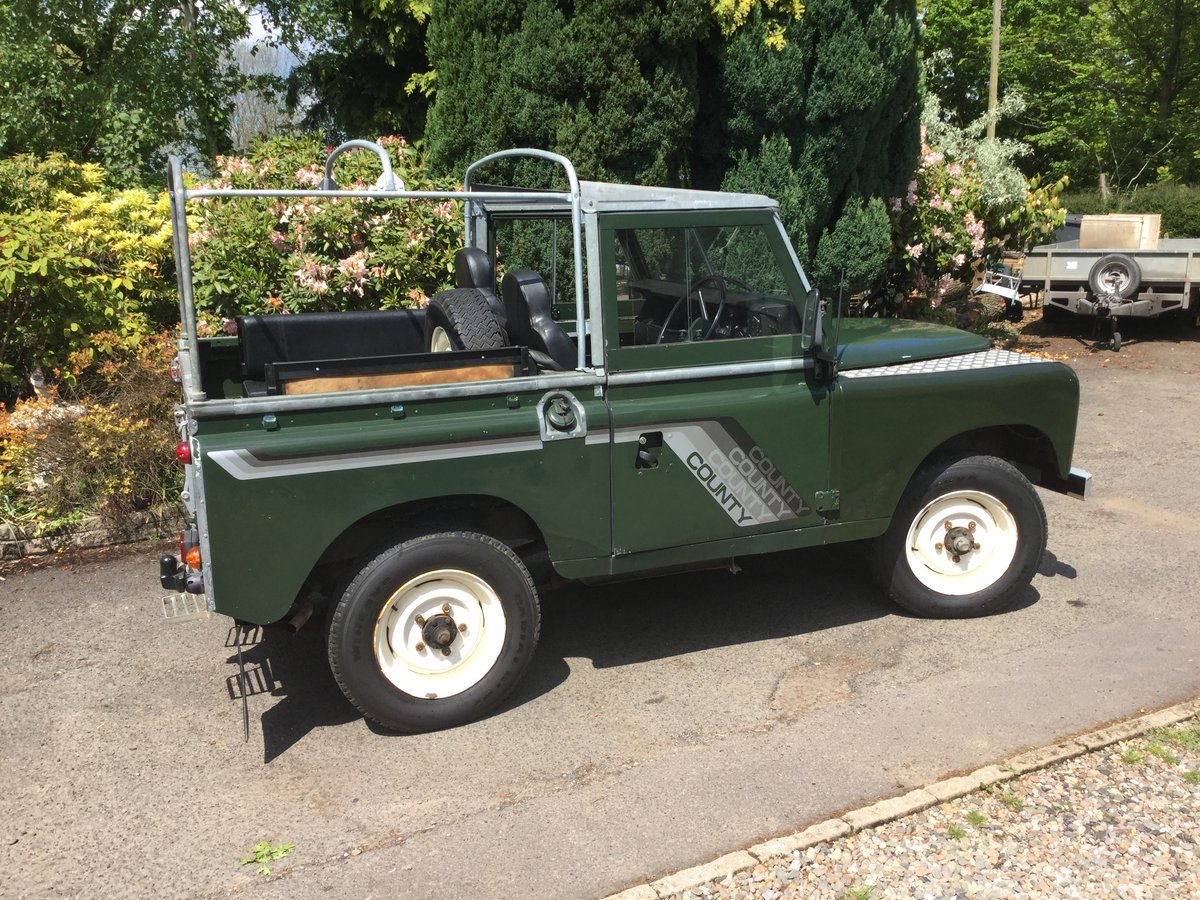 1984 Series 3 Diesel with Galvanised Chassis For Sale (picture 4 of 6)