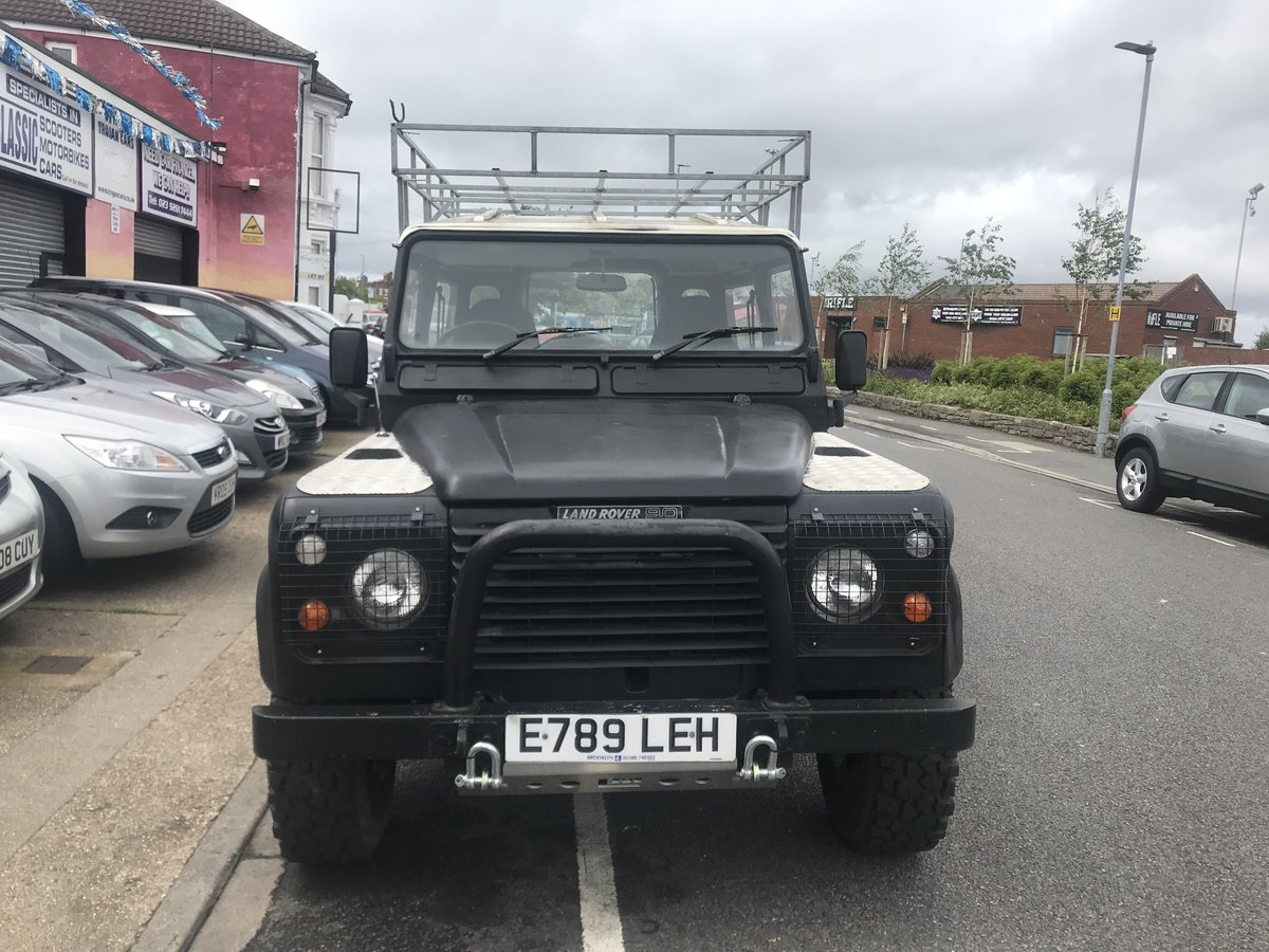 1988 Landrover 90 4cyl Reg DT For Sale (picture 4 of 5)