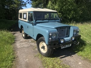 1980 Landrover series 3 109  2.225 petrot For Sale