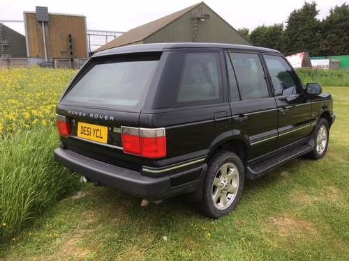 2001 Range Rover Vogue **Without Reserve** at Auction 17th August SOLD by Auction (picture 2 of 6)