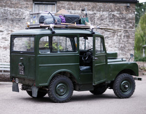 1950 Land Rover Series 1 Station Wagon by Tickford For Sale by Auction